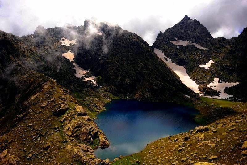 Озера Тобаварчхили в Верхнем Самегрело, Грузия