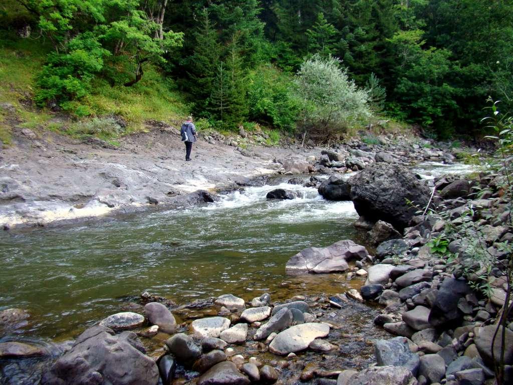 рыбалка в горных реках грузии