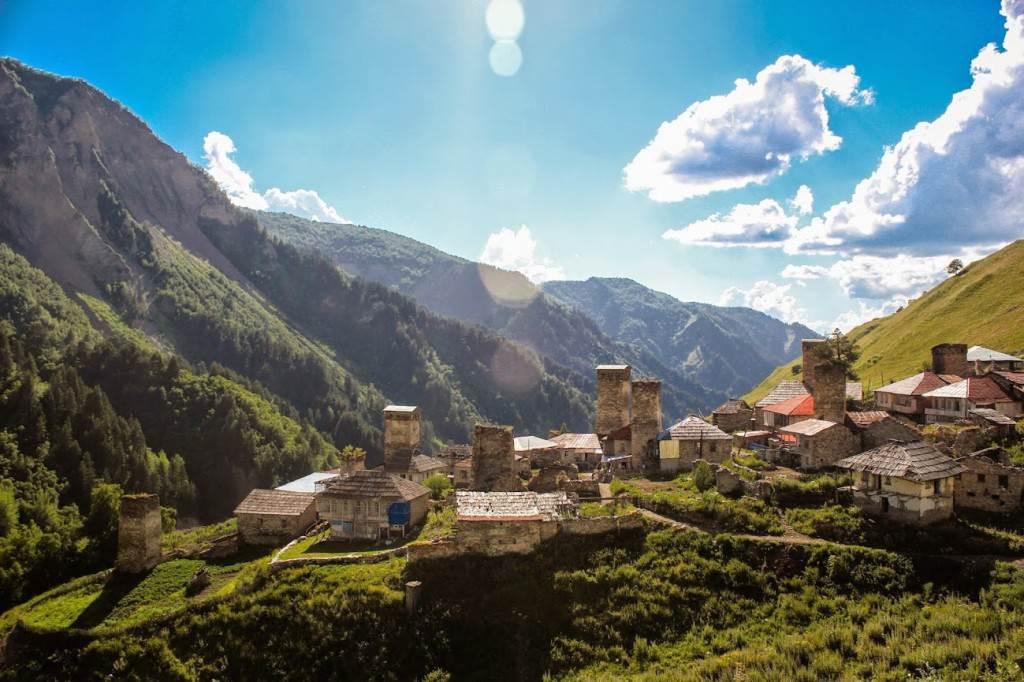 Село Адиши, Сванетия
