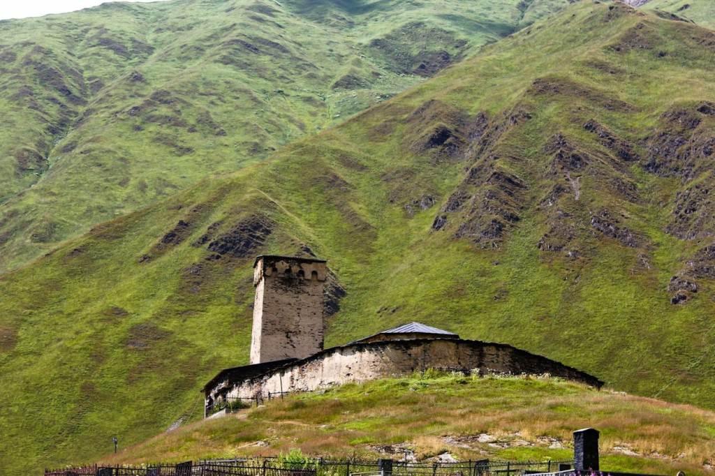 Церковь Ламария в Ушгули, Сванетия