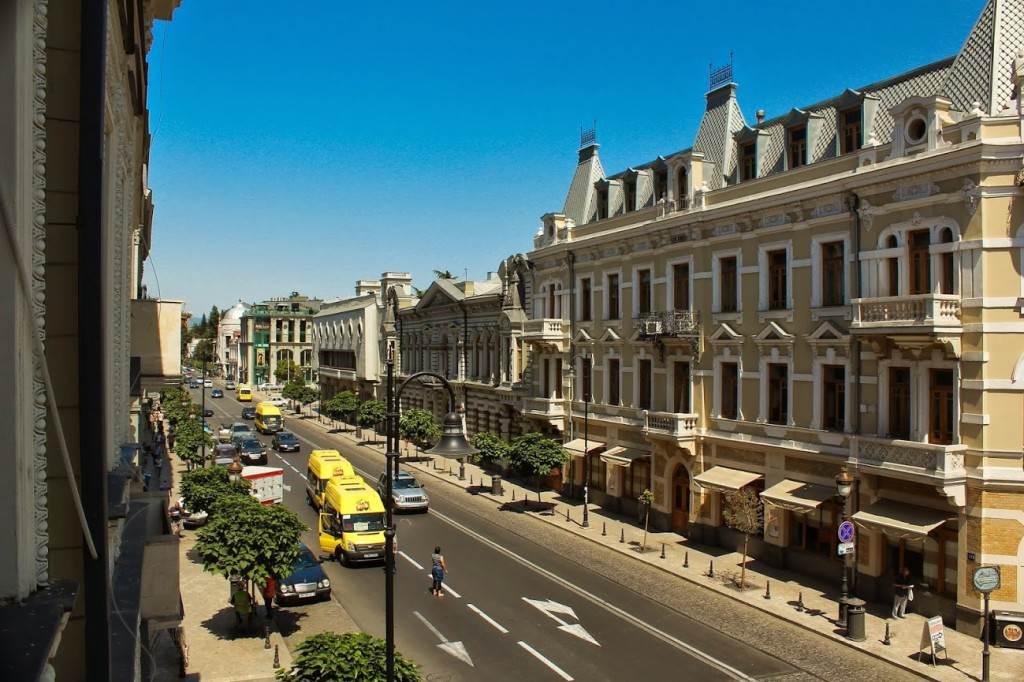 Улица Давида Агмашенебели, Тбилиси
