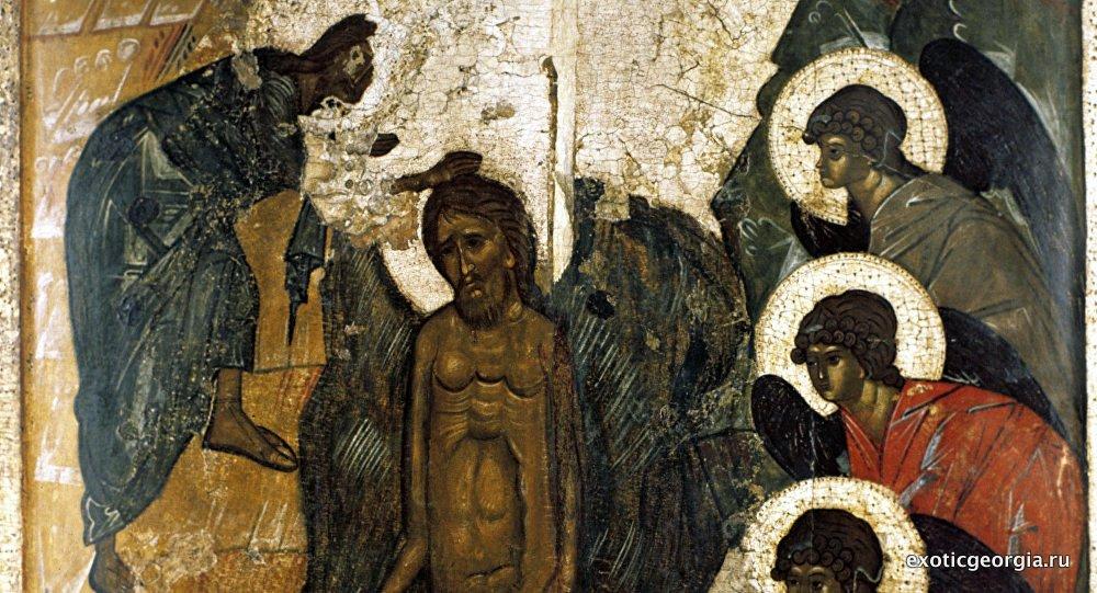 Древние фрески Грузии