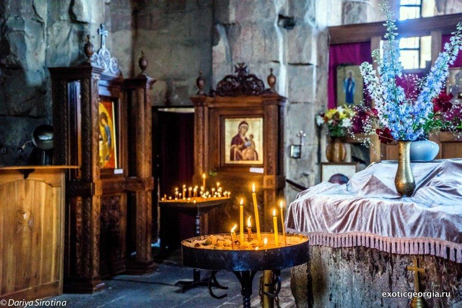 История Грузия — монастырь Джвари