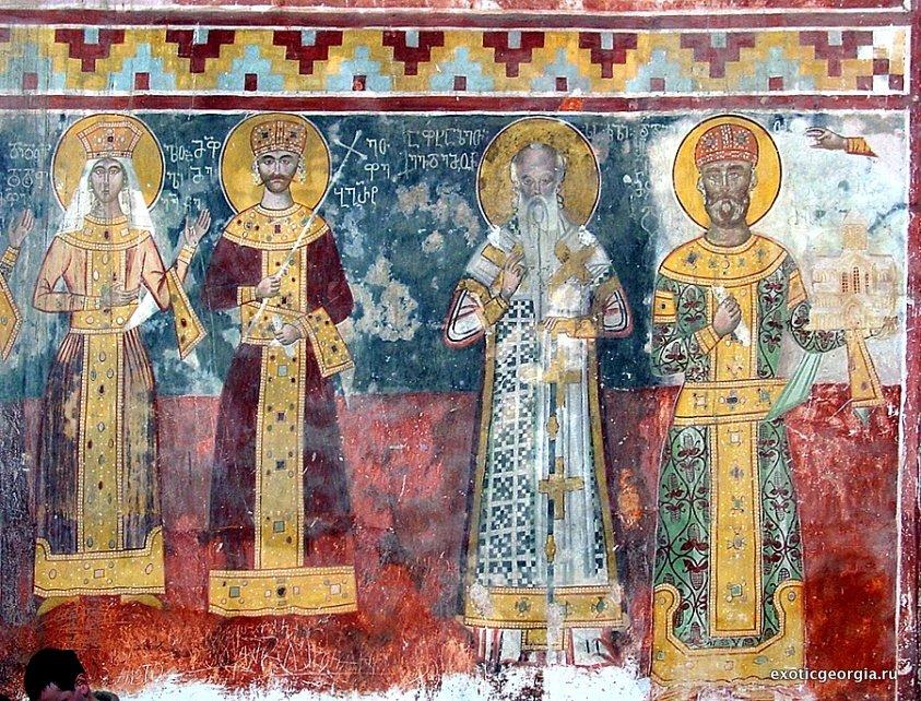 Фрески в Грузии