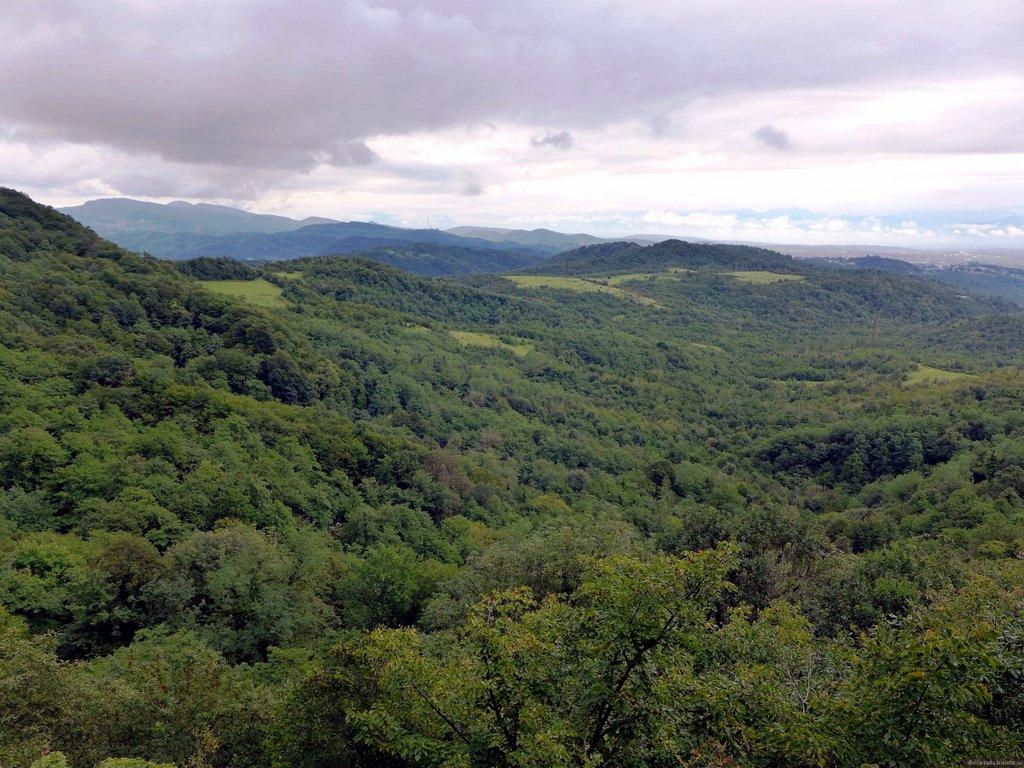 Виды холмов из Сатаплиа