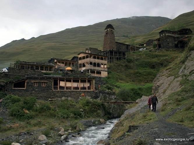 Вид на тушинское село Дартло