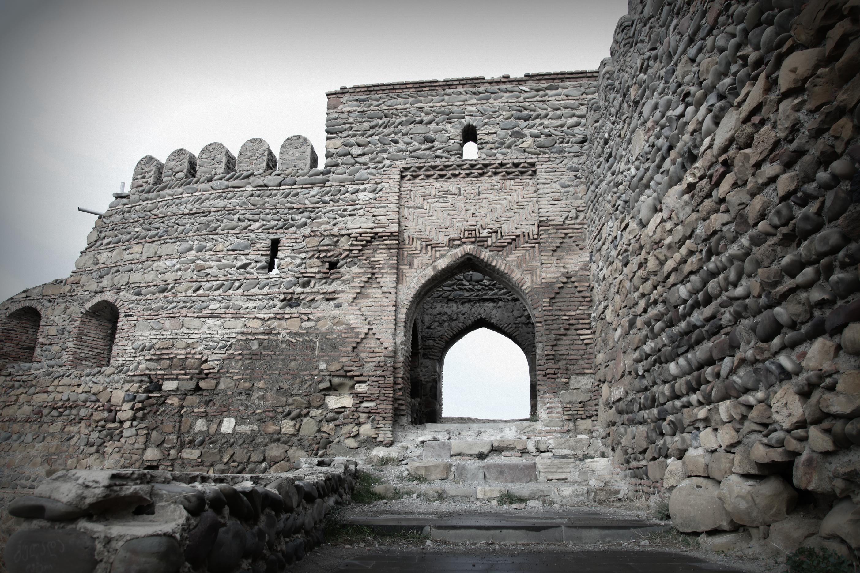 Гориджвари, Гори и Уплисцихе пещерный город