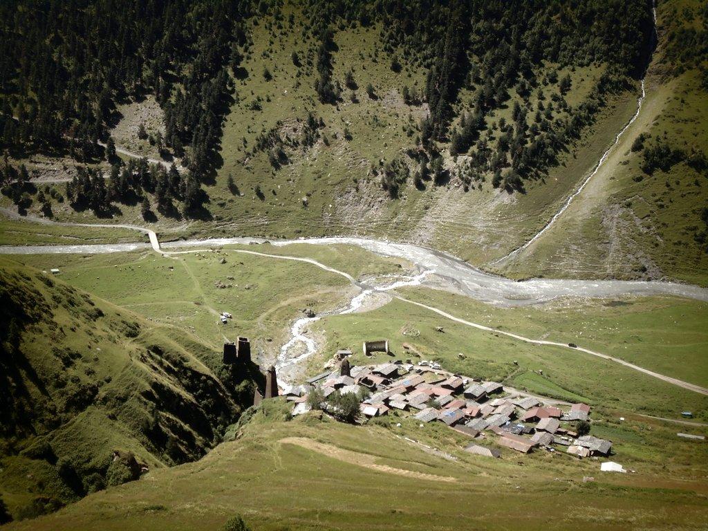 Дартло, Достопримечательности Тушетии