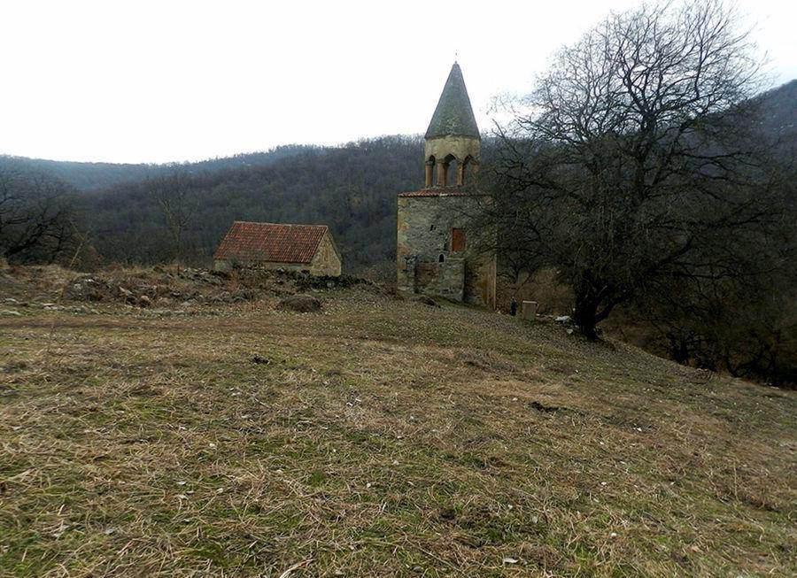 Католическое Рождество в грузинском монастыре, Картли