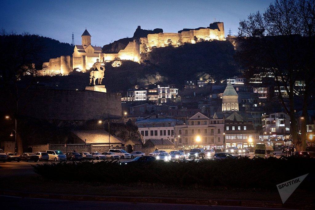 Крепость Нарикала, тур по Тбилиси