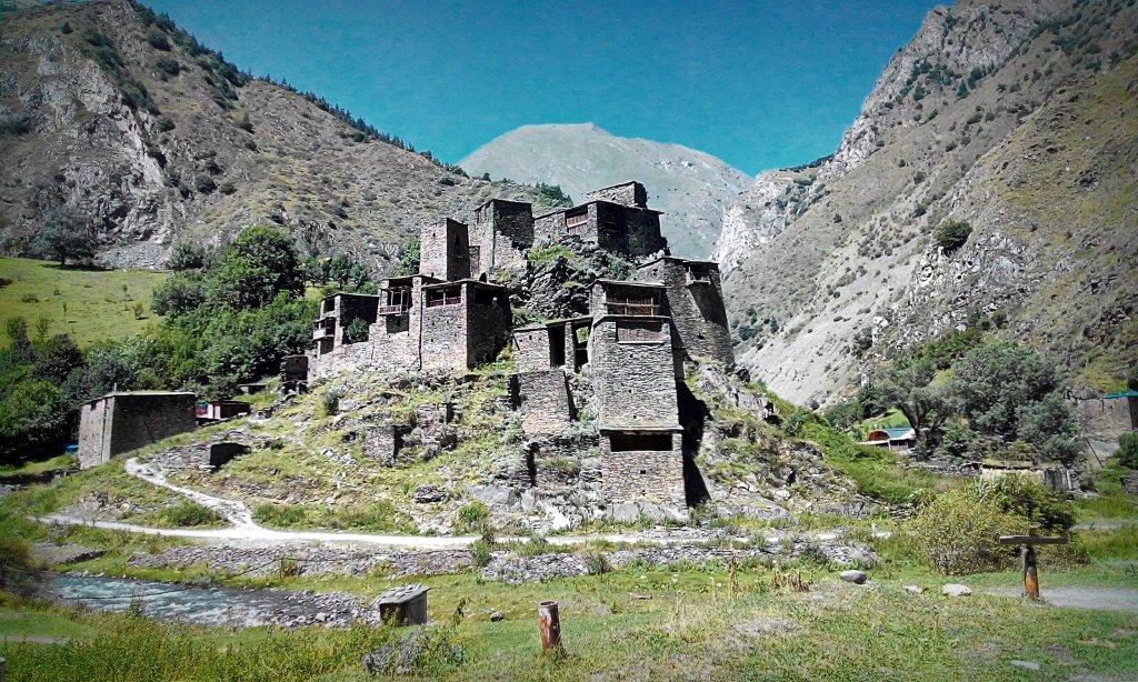 Крепость замок Шатили