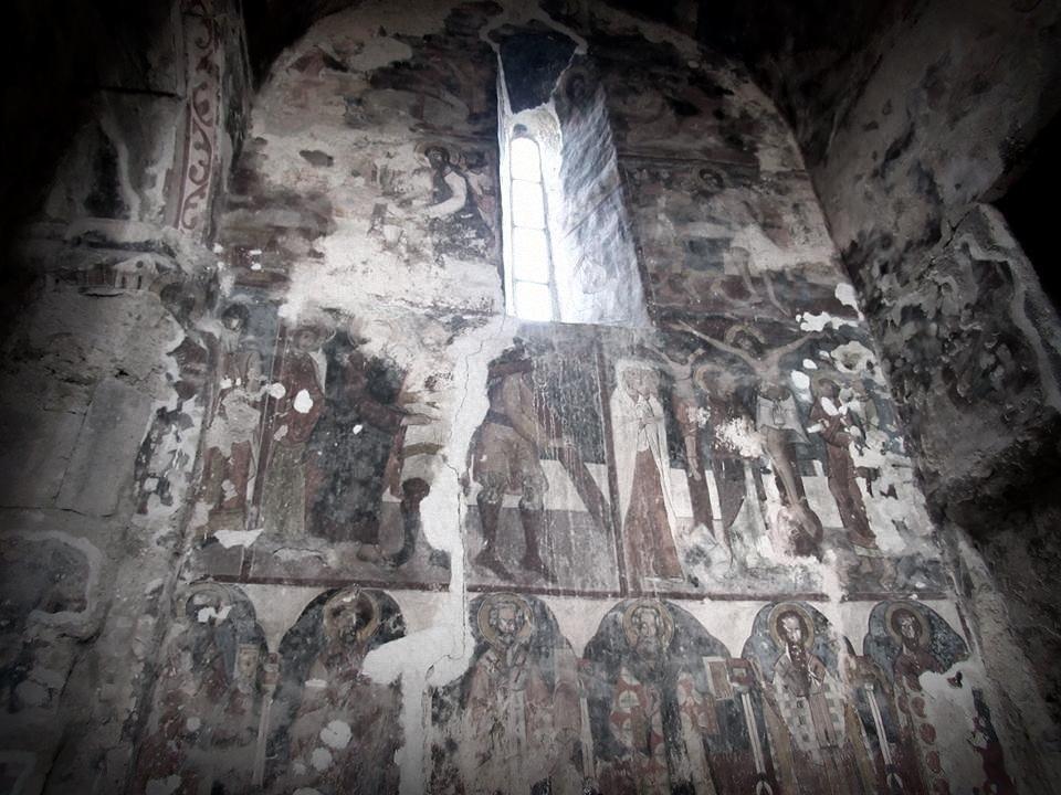 Монастырь Питарети внутри