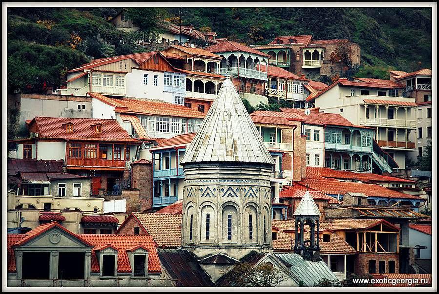 Несолнечный Тбилиси или очарование грузинской столицы 2