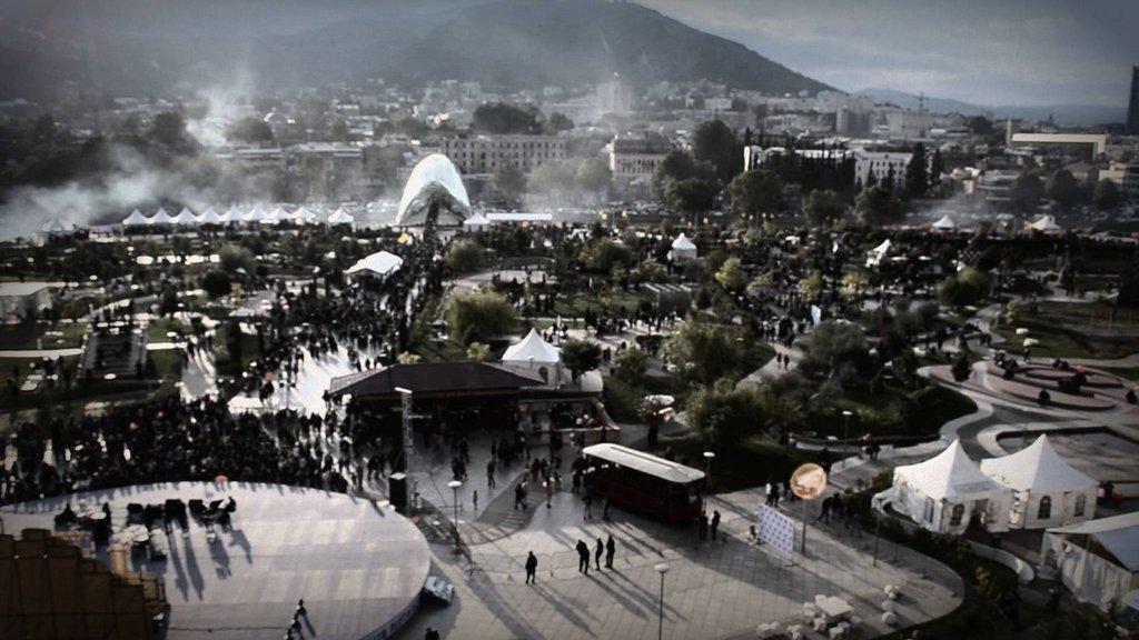 Парк Рике, Тур по Современному Тбилиси