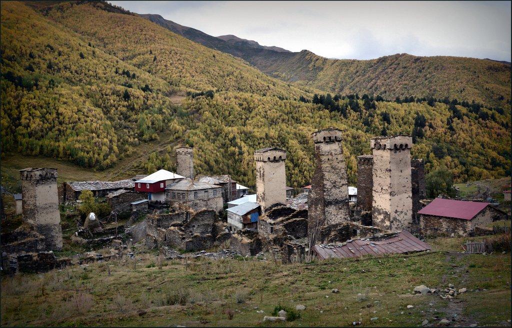 Сванские башни, Сванетия достопримечательности