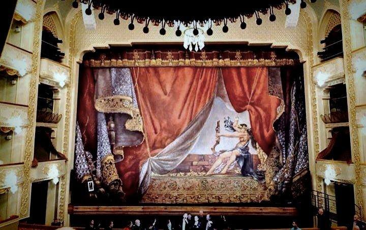 Театр оперы и балета Тбилиси внутри