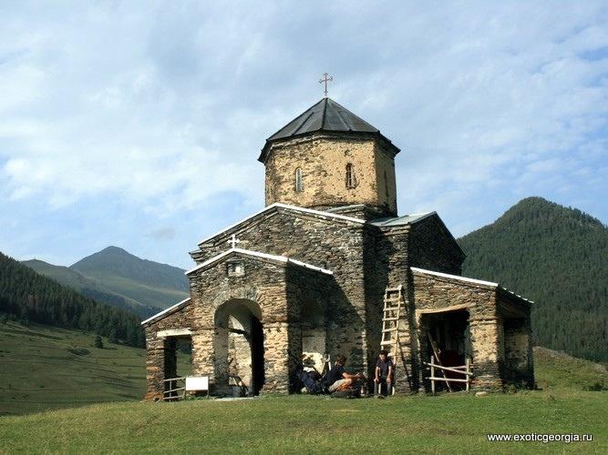 Троицкий храм в Шенако