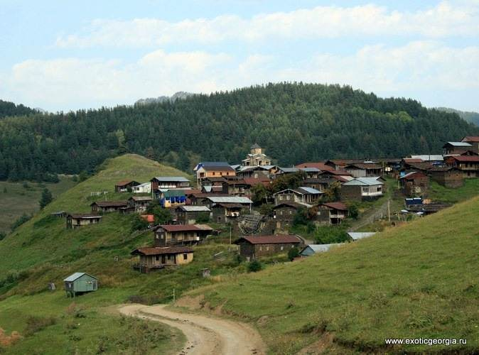Тушетия, село Шенако
