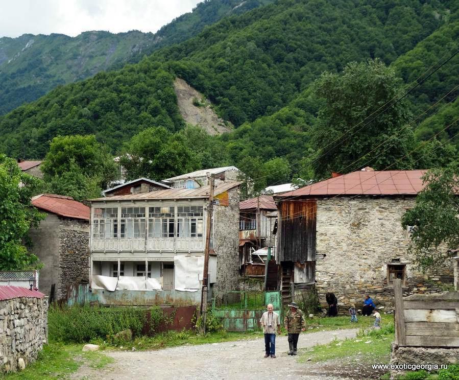 горное село Геби