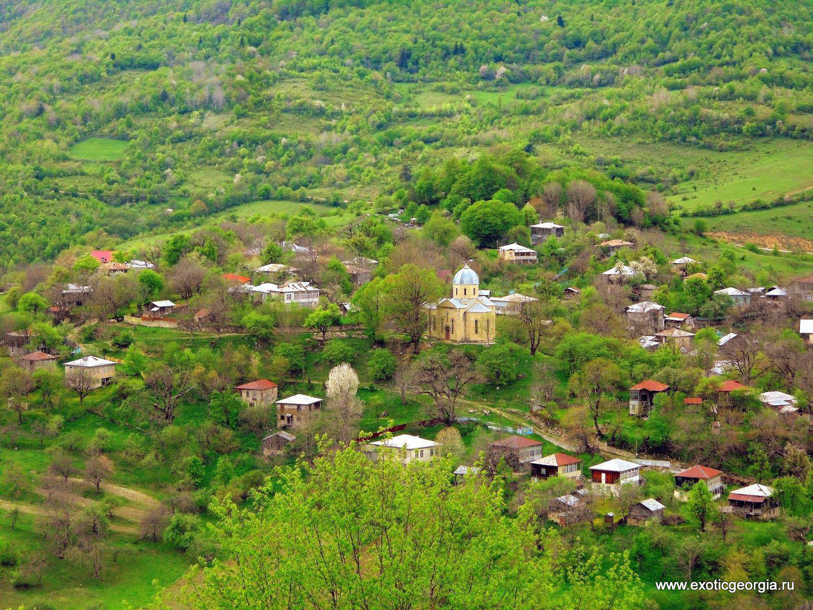 Рачинское село Хончиори
