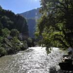 возле моста царицы Тамар