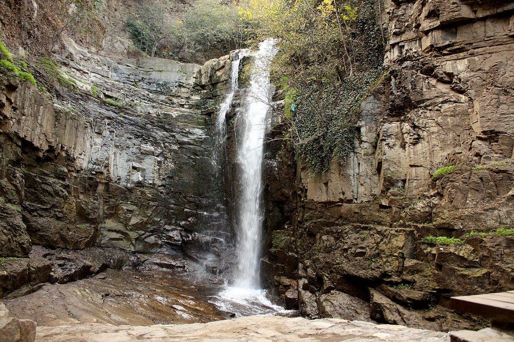 Водопад в Легвтахеви