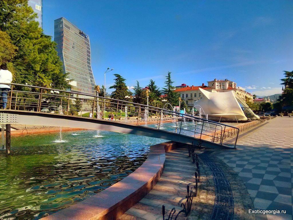 Фото Батуми. Парк в Центре.