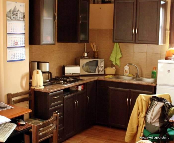 Кухня. Жилье в Тбилиси, хостелы