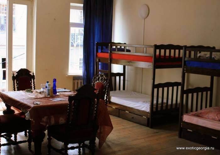 Спальня. Жильё в хостелах Тбилиси