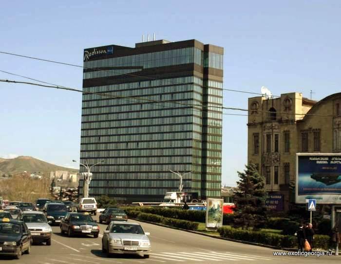 5 звездочный отель в Тбилиси