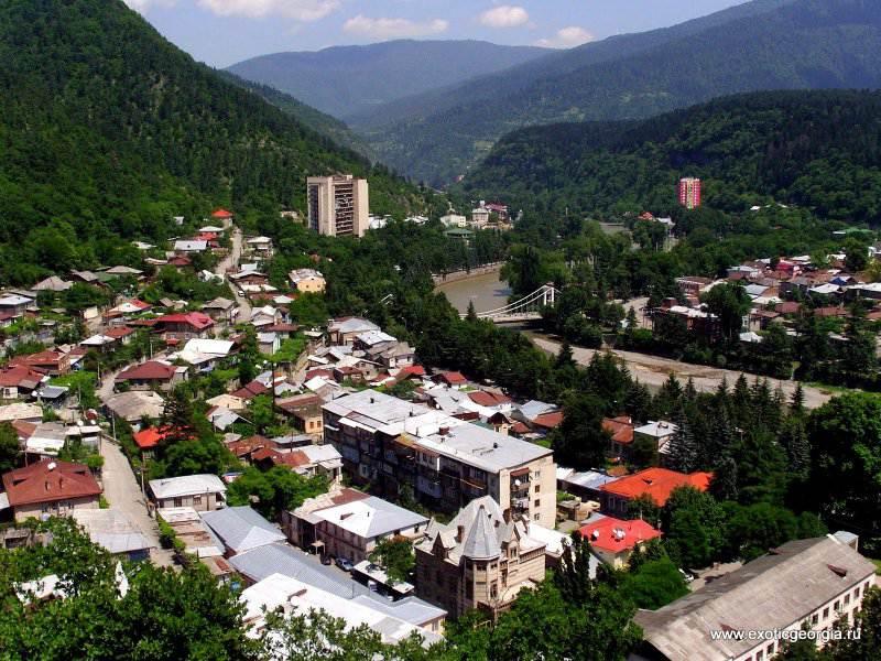 Боржоми в туре Красивая Грузия