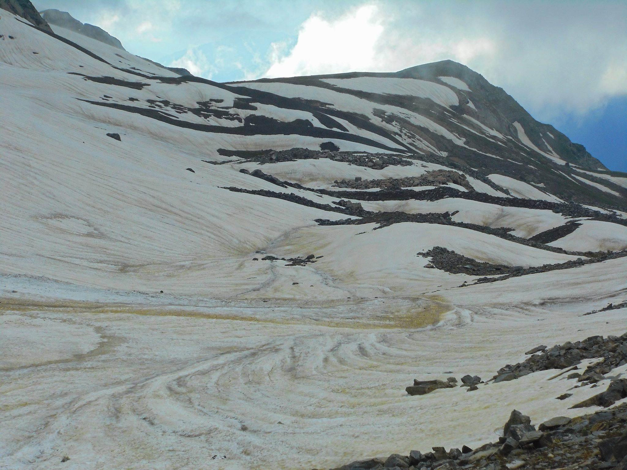 горы и ледники Грузии