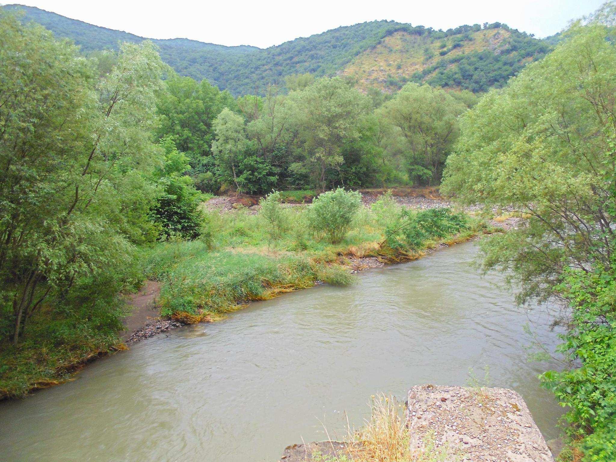 реки озера и горы Грузии