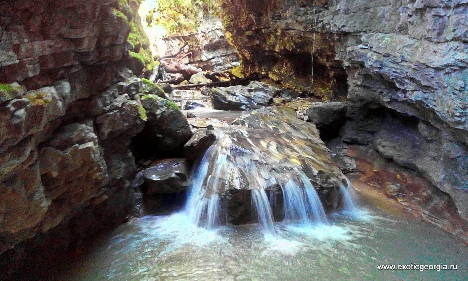 Каньон реки Крихула