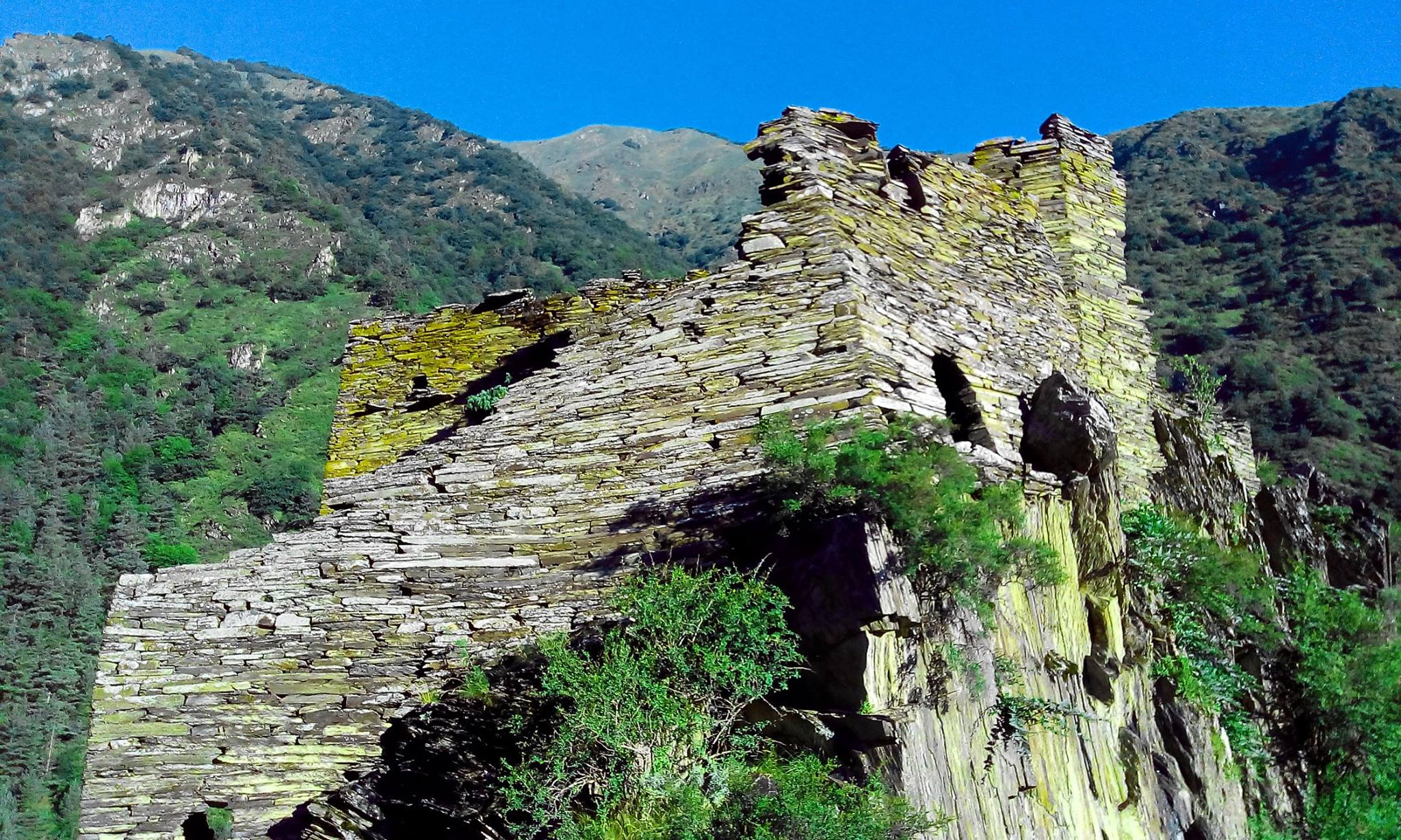Крепость Качу