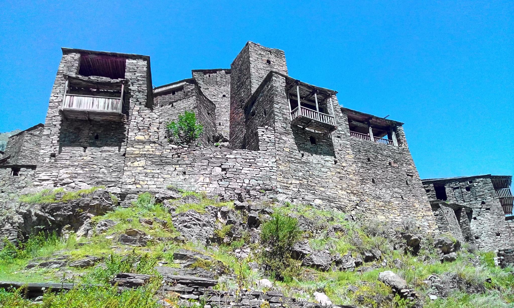 Фотографии крепости Шатили
