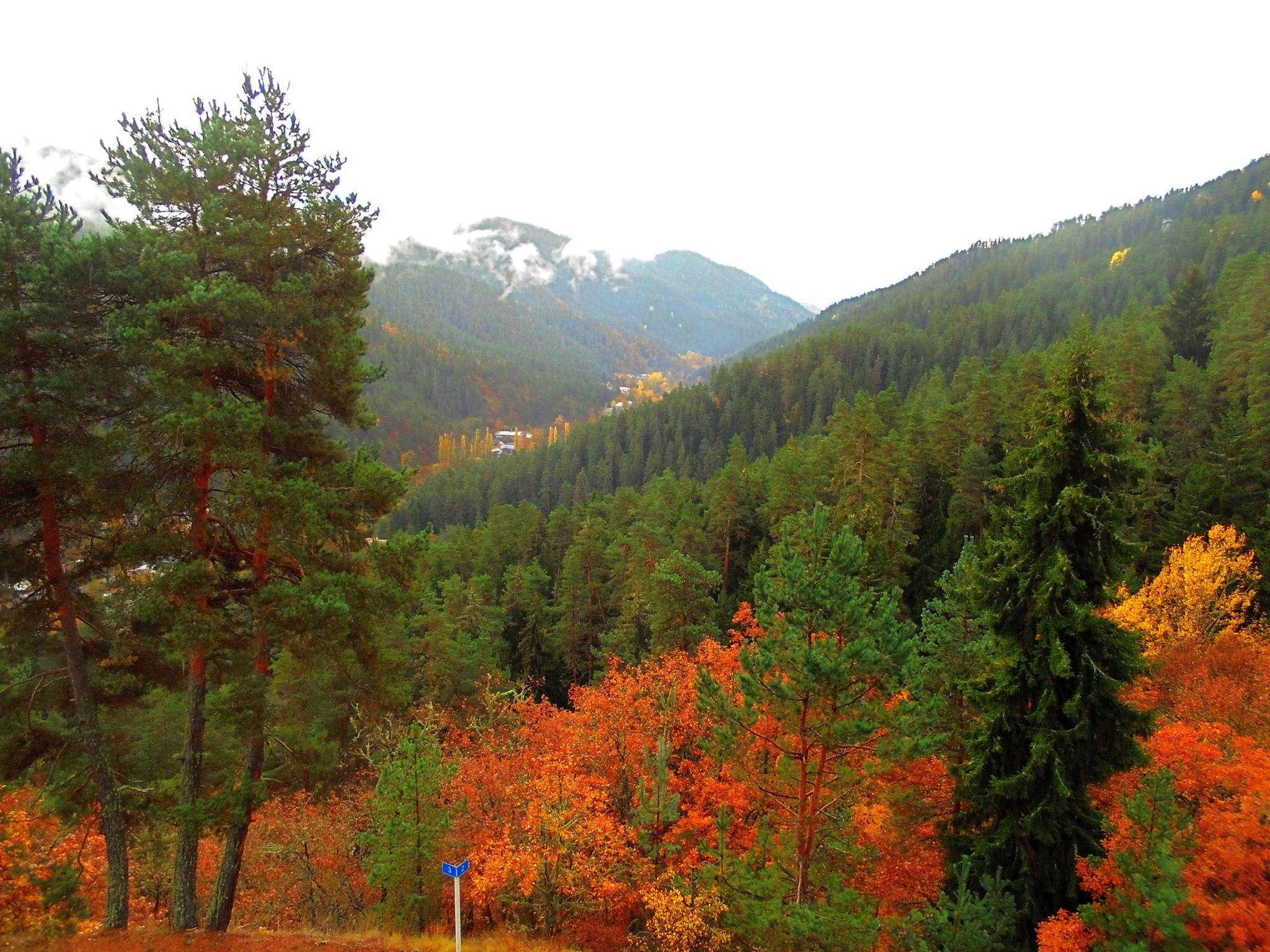 Грузия осенью в регионе Самцхе