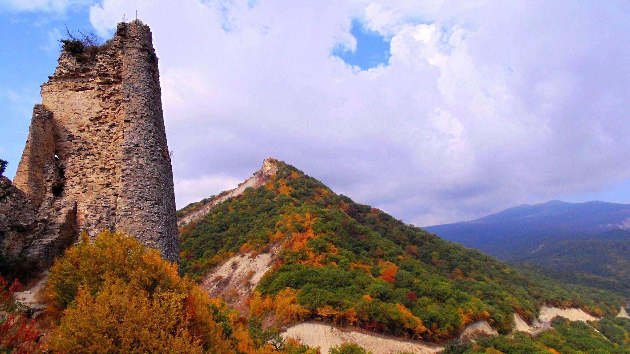 Грузия осенью в Кахетии