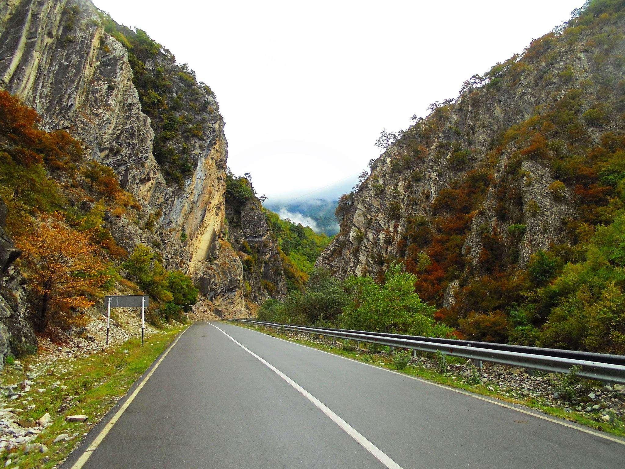 Осень в Грузии
