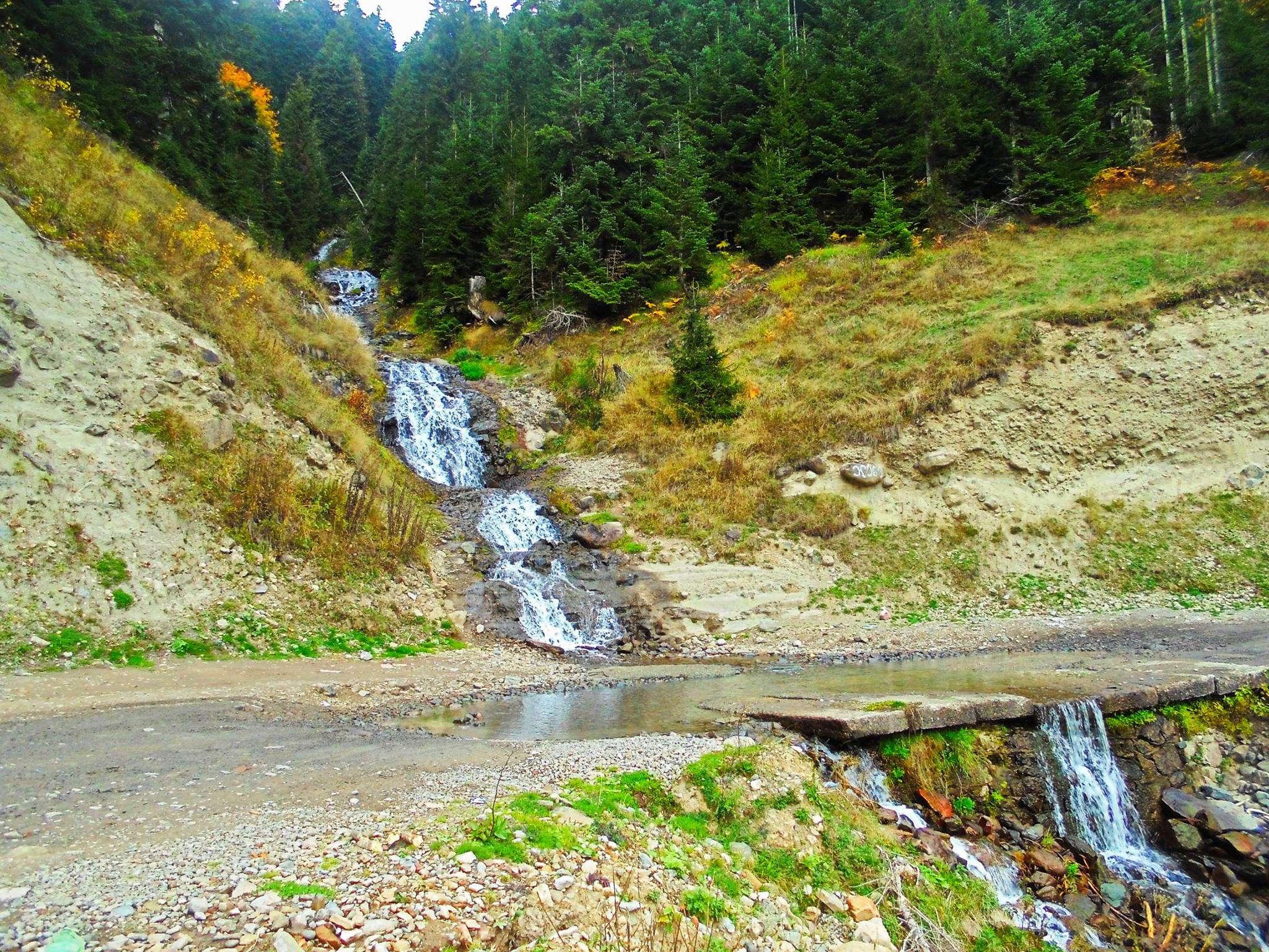 Осень в Грузии, перевал Годердзи