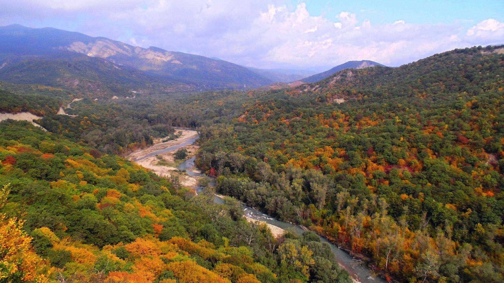 Осень в Грузии в Кахетии