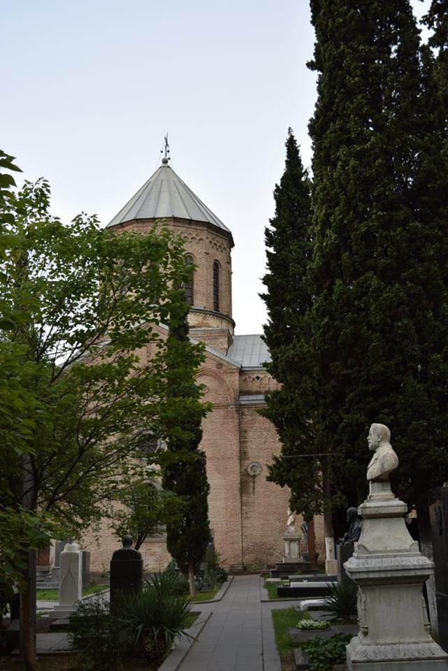 Пантеон, храм св. Давида Гареджийского