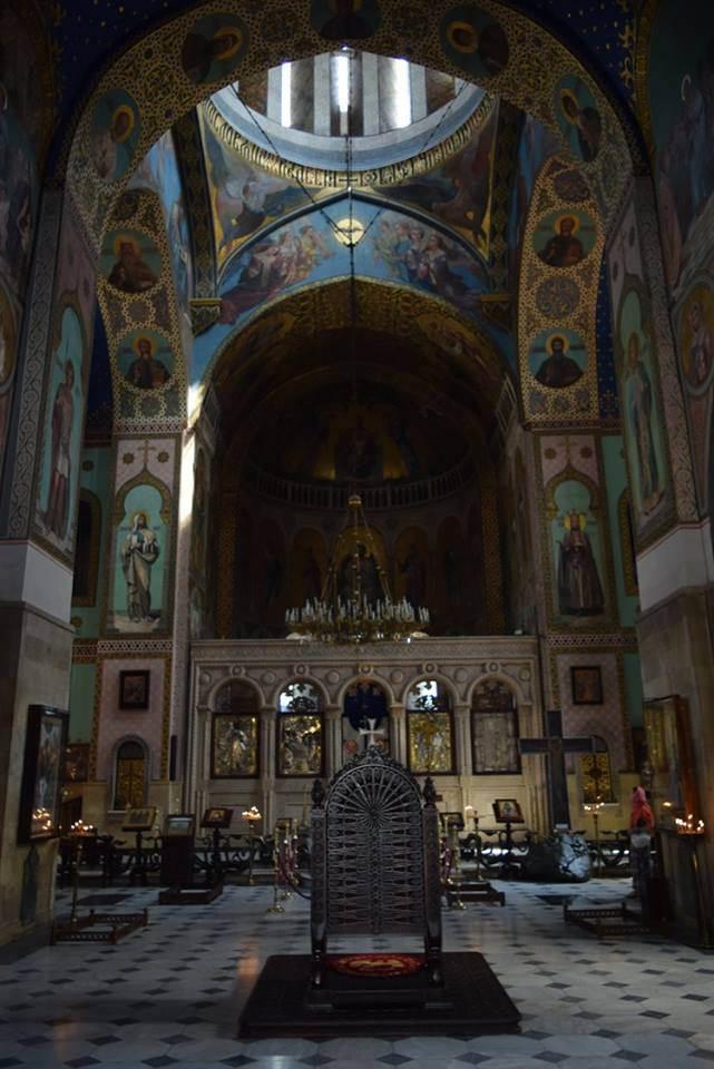 Сиони, где хранится крест св. Нины и глава апостола Фомы