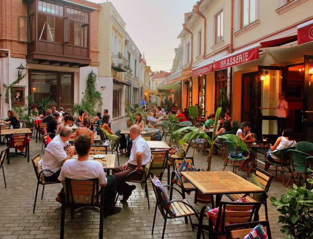 Шардени, Тур по современному Тбилиси