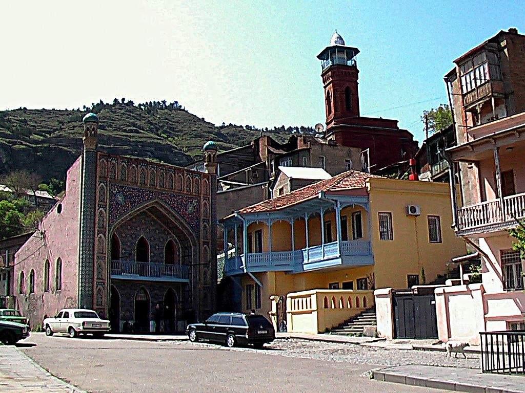 Тбилисская мечеть, Достопримечательности Тбилиси