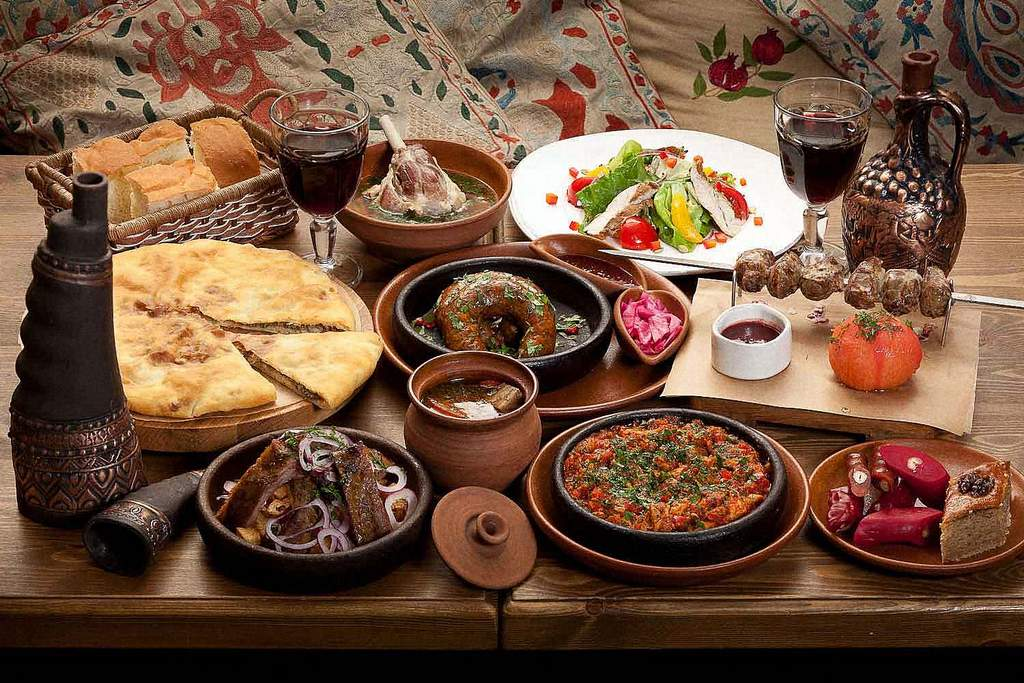 Вкусности Грузинского региона