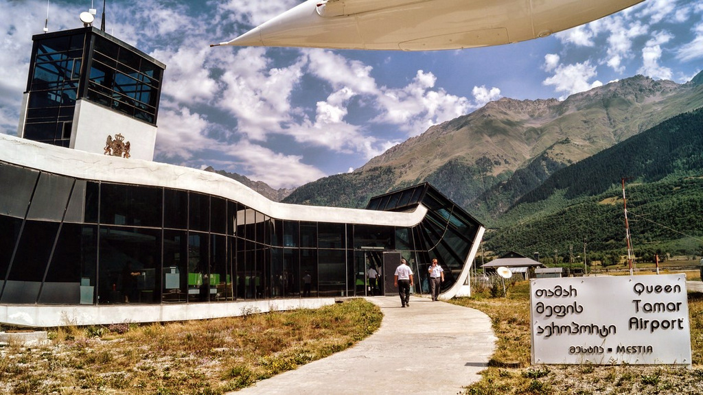 Аэропорт в городе