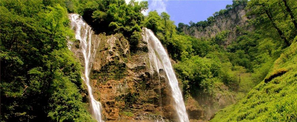 Каньон Окаце и водопад Кинчха в Имерети