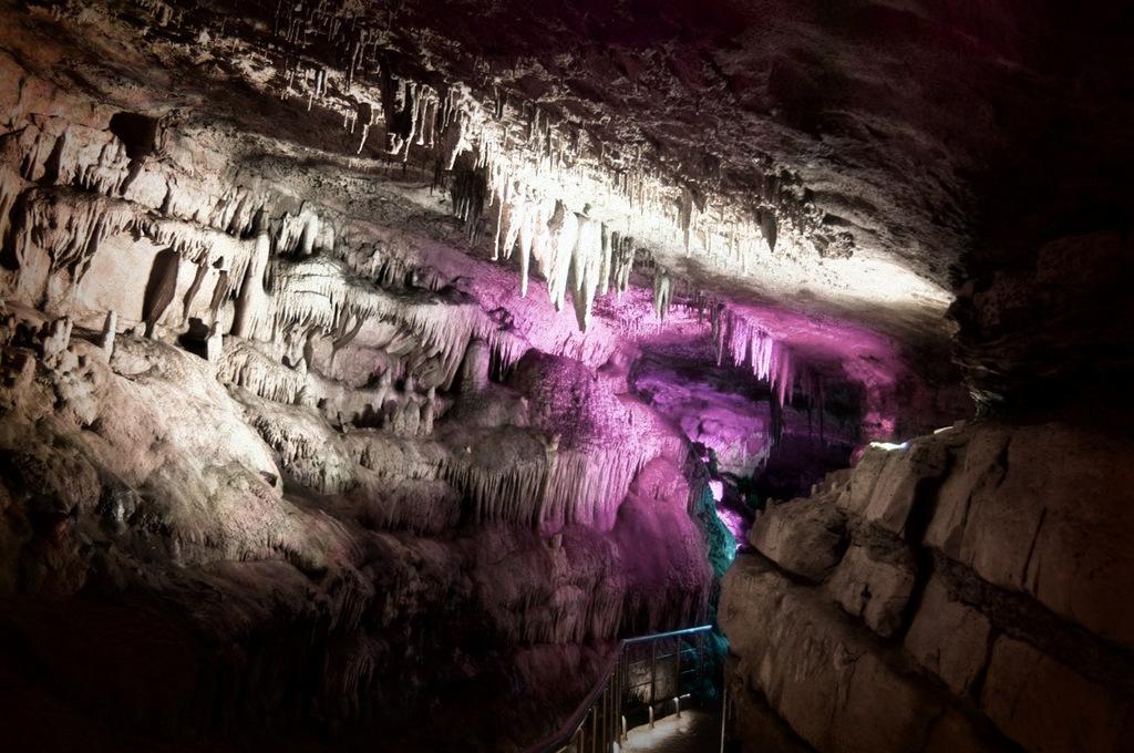 Пещеры Прометея, Лето в Грузии
