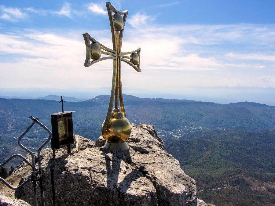 Виды с горы девяти крестов